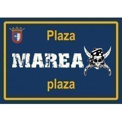 Placa Plaza Marea
